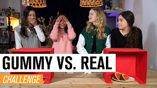 #58 WIE SPEELT ER VALS TIJDENS GUMMY VS. REAL? | JUNIOR SONGFESTIVAL 2021 🇳🇱