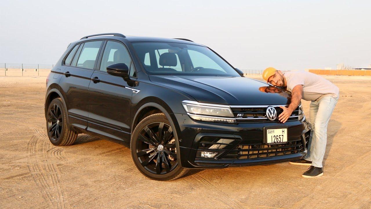 جولف بحجم عائلي؟ فولكس فاجن VW Tiguan R line