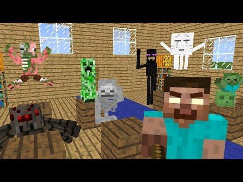 Monster School Preschool Season 1 Minecraft Animation