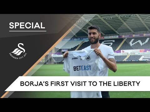Swans TV - Borja's first visit to the Liberty