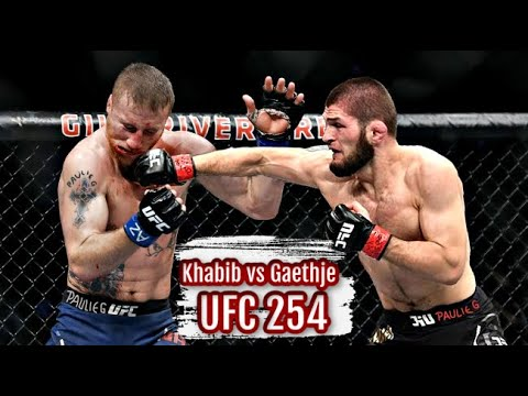 "Khabib vs Justin Gaethje PROMO UFC 254 ""The Fight of The Year"""