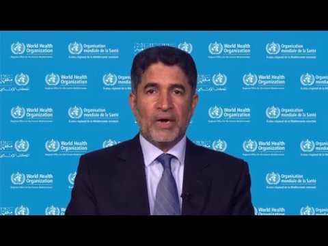 Message from WHO Regional Director, Dr Ahmed Al-Mandhari   World Immunization Week 2019