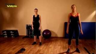 Супер-подборка упражнений для создания идеальных ног!(Красивые ножки - это легко! Лучшее видео с упражнениями для похудения ног и укрепления мышц. Тренер доступно..., 2012-05-17T08:57:06.000Z)