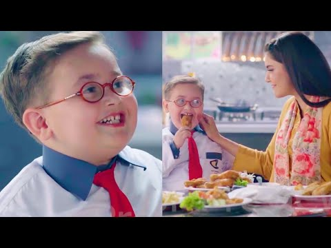 ahmed-shah-first-tv-commercial-with-nida-yasir!---cute-little-pathan-ka-bacha-viral-advertisement!