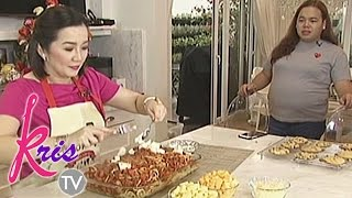 Kris TV: How to cook Bimby's favorite baked cheesy spaghetti