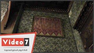 سر وجود كسوة الكعبة ضمن مقتنيات الأمير محمد على توفيق بقصر المنيل