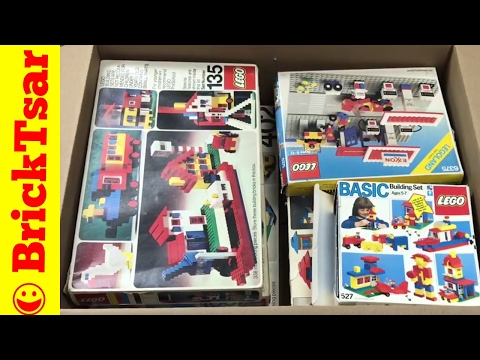 LEGO Collection Inventory Box P15-P19