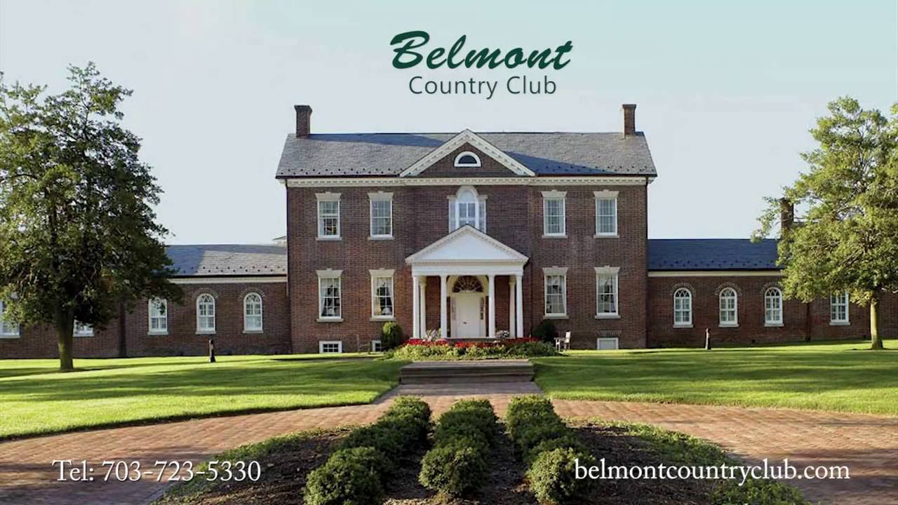 Belmont Country Club Wedding Venues Collage