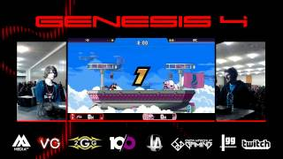 Genesis 4 - Mr. Lz Vs. RK987 - Losers Finals - Rivals of Aether