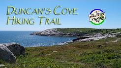 Duncans Cove Hiking Trail. Halifax, Nova Scotia.