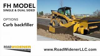 Road Widener: FH-R and Vibratory Roller - Product Overview