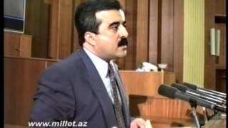 AMİP lideri Etibar Məmmədovun MDB-yə daxil olmaqla bağlı MM-də aparılan müzakirədəki çıxışı