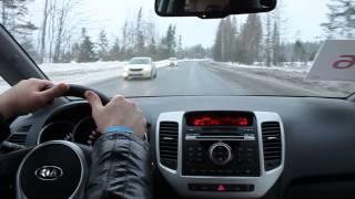 """Тест-драйв автомобиля KIA Venga ( обновлённая версия 2015 )-акция""""Зарядись энергией..."""""""