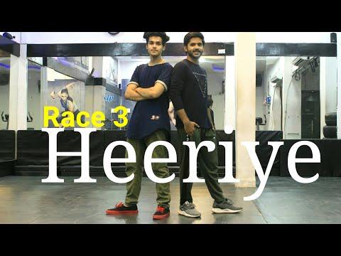 Heeriye - Race 3 | Dance Choreography| Vicky Dubey | DXB Dance Studio