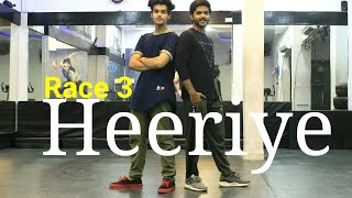 Heeriye - Race 3 | Dance Choreography | Salman Khan | Vicky Dubey | DXB Dance Studio
