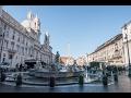 Piazza Navona, site of 1st centurny Stadium of Domitian, Rome, Italy