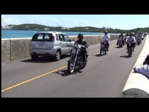 Hurricane Fabian Memorial Ride Causeway  Sept 4 2011