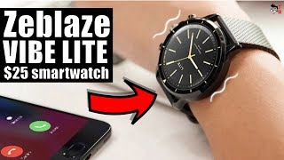 Zeblaze VIBE LITE: 24 Months on Single Charge! Hands-on Preview