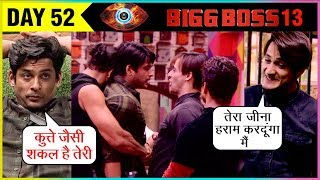 Siddharth Shukla And Asim Riaz's NON STOP Fight At Bigg Boss 13   Episode Update