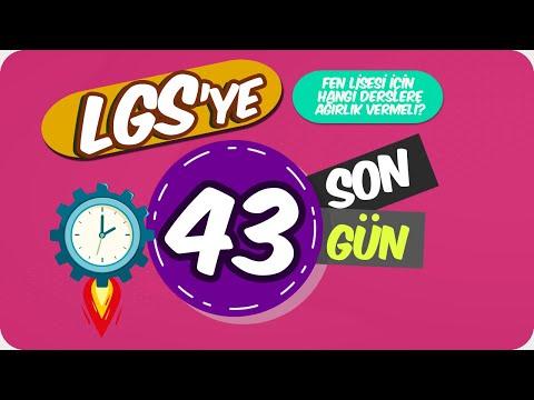 LGS'ye Son 43 Gün | Fen Lisesi İçin Hangi Derslere Ağırlık Vermeli?