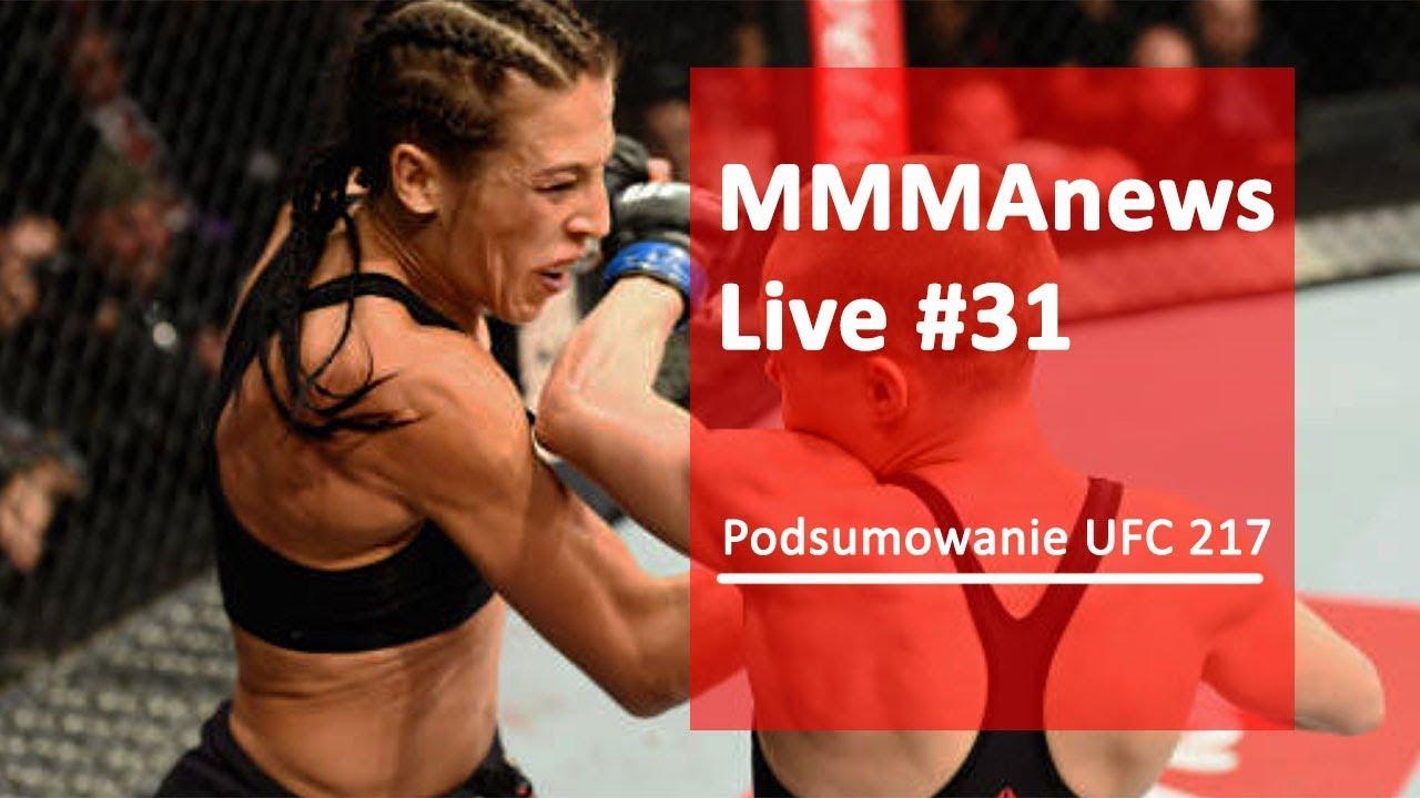 MMAnews Live #31 – Podsumowanie UFC 217