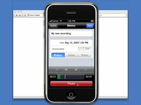 how to add voice memo to imovie