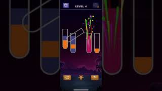 Sort Water Color Puzzle 🧪 Water sorting colour game level 4 screenshot 5