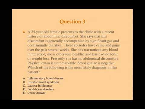 Gastroenterology Review Questions - CRASH! Medical Review Series