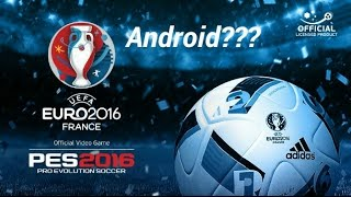 PES2016 EURO2016 ANDROID!!! HOW TO DOWNLOAD PES2016
