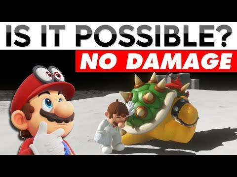 BEATING SUPER MARIO ODYSSEY WITHOUT TAKING DAMAGE | Is It Possible? (Stream Archive)