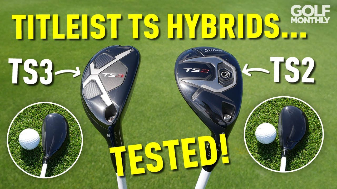 Titleist TS2 & TS3 Hybrids First Hit Review! Golf Monthly