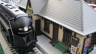 Best video of 3-rail O-gauge model trains in action!