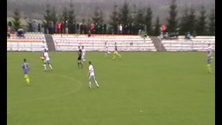 Wierna Małogoszcz - Poprad Muszyna 1:0. Skrót meczu. 2014.04.19