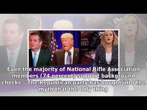 Samantha bee americas gun obsession is literally killing us