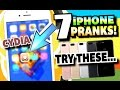 7 iPhone Pranks To Annoy Your Friends 2016 - iOS 10 (Fake Cydia, Fake Virus, & More!)