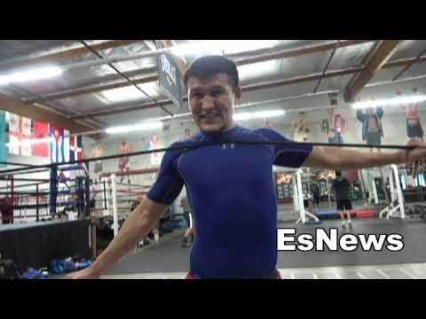 Juan Funez (12-0) In Camp Sparring Lomachenko Day 4 EsNews Boxing