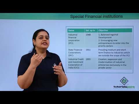 Special Financial Institutions