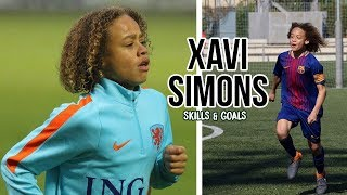 Xavi Simons skills & goals - 2018/2019 - Barcelona & National team