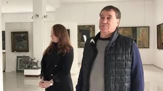 В гостях у художника Евгения Анатольевича Долгачева, Заслуженного художника РФ.