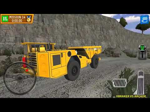 Quarry Driver 3: Giant Trucks New MINING DUMP TRUCK Unlocked Android Gameplay #3