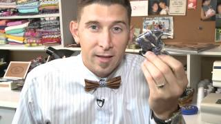 wooden bow ties remember lost brother