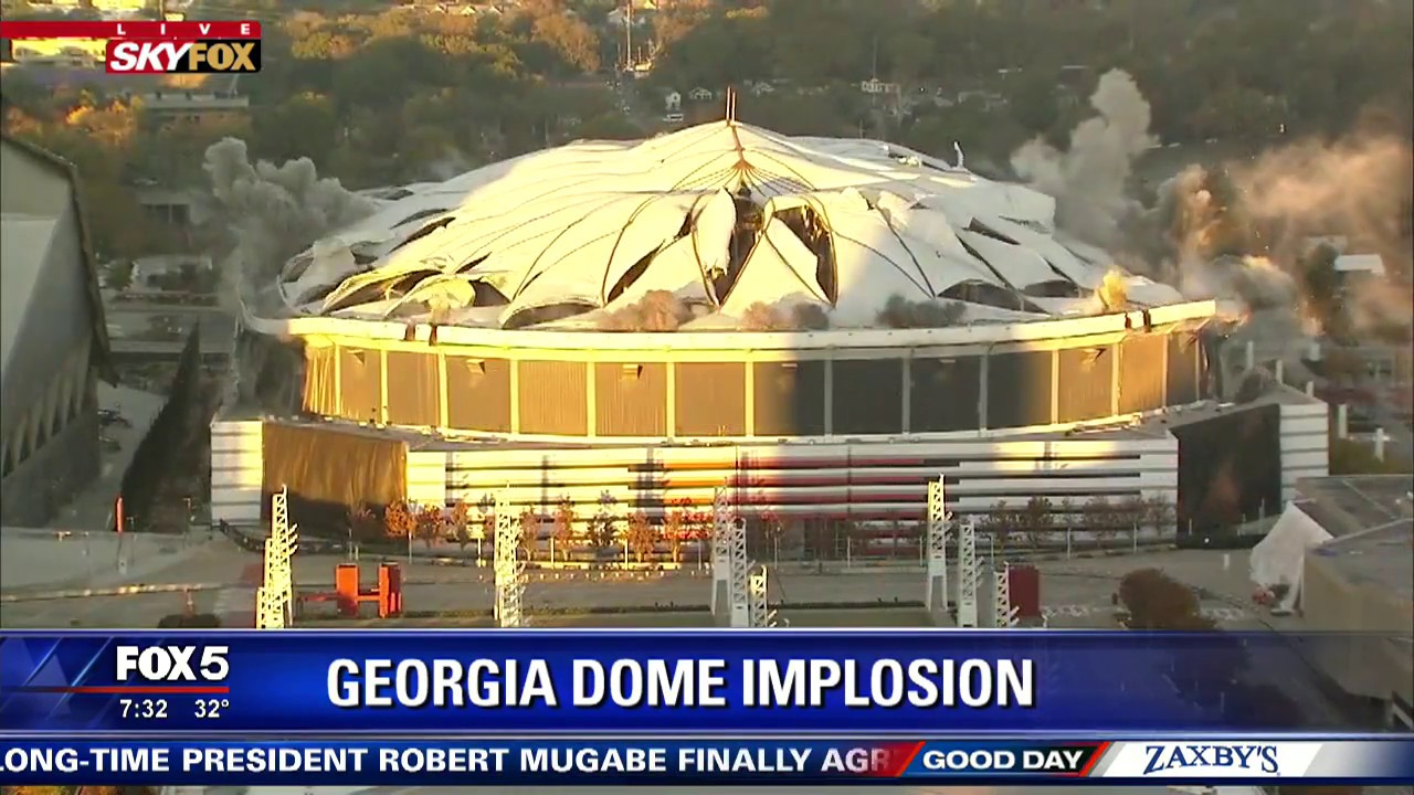 Image result for last days of atlanta dome