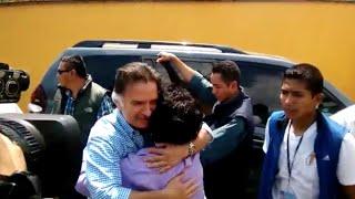 Así llegó Alfonso Portillo a Zacapa