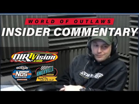 Kevin Swindell goes IN THE BROADCAST BOOTH with Johnny Gibson and the entire DIRTVision crew for the World of Outlaws Sprint Cars Series event from ... - dirt track racing video image