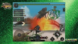 Monster Hunter Freedom Unite for iOS - online Monday hunts