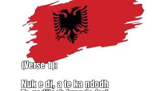 Eurovision 2020 - Albania - Arilena Ara - Shaj - (Lyrics Video)