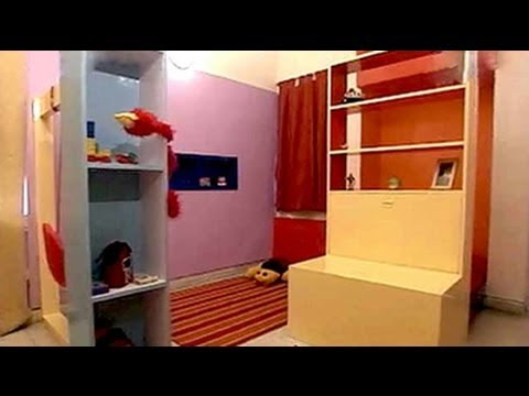 Utility space transformed into little boy's bedroom cum playroom (Aired: October 2004)