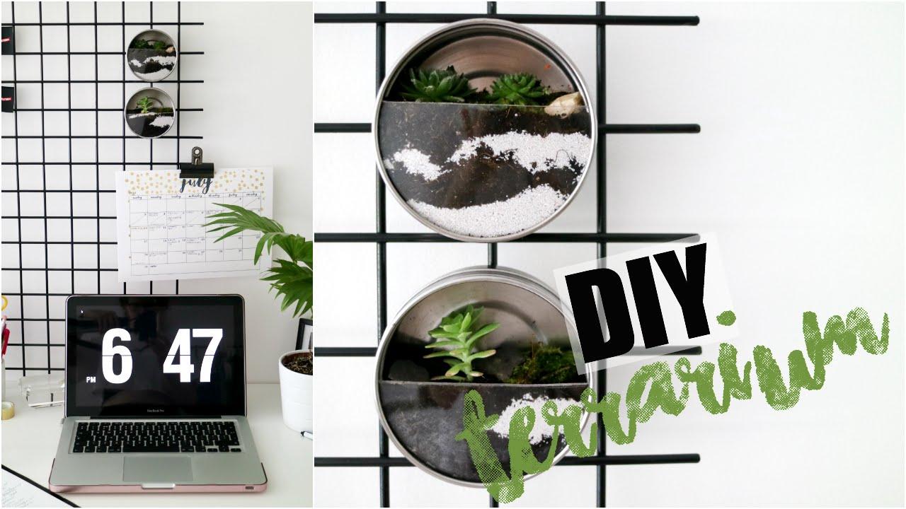 Diy Terrarium Urban Outfitters Pinterest Inspired Easy