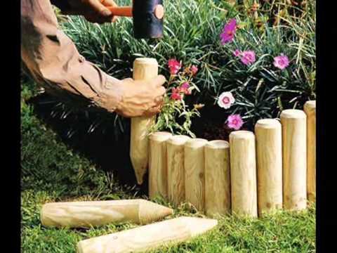 Садовые ограждения для клумб