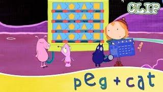 peg cat triangle pentagon triangle square